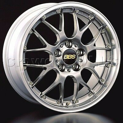 BBS 18 x 8 5 RSGT Car Wheel Rim 5 x 120 Part # RS909EDBPK   eBay