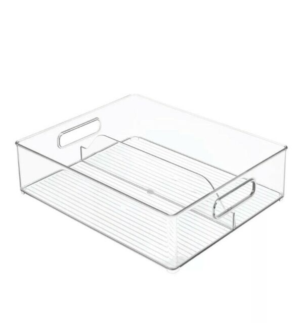 Interdesign Fridge And Deep Split Bin Transparent For Sale Online Ebay