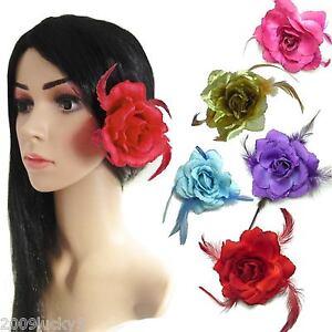 Avoir Un Esprit De Recherche 3 En 1 Clip élastique Broche Pin Rose Cheveux Fleur Burlesque Grip Diapositive Nuptiale 50s-afficher Le Titre D'origine éLéGant Dans Le Style