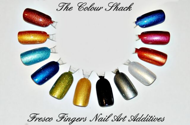 GNI Nail Additives® *Fresco Fingers 12 Pots💅 Suitable for ALL Nail Mediums