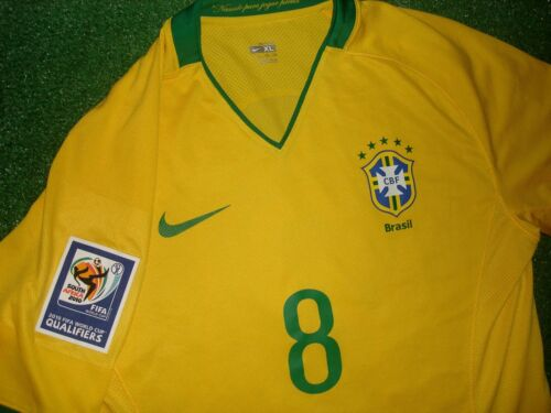 BRASIL QUALIFIERS WC 2010 Match Issued XL