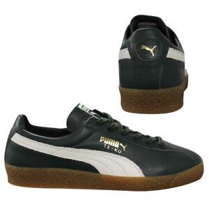 Top ku Mens Puma U4 Trainers Te Leather 365814 Low 01 Green Up Lace wqFgpxRF0