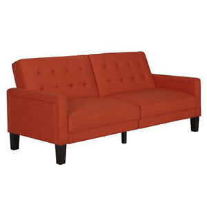 Image Is Loading Futon Convertible Sofa Couch Living Room Furniture Sleeper
