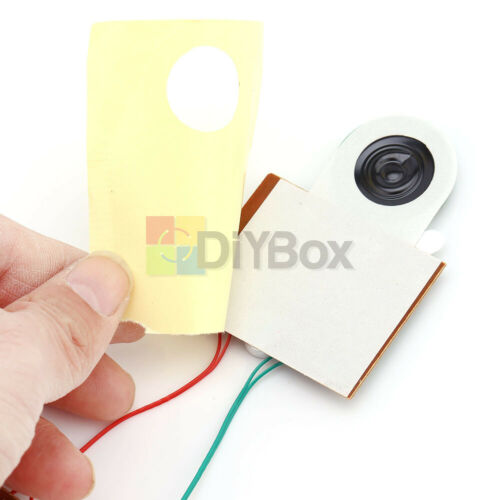 30s Greeting Card DIY Recordable Voice Chip Music Box Sound Module Musical Board