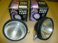 Ex Militär Land Rover Arbeitsscheinwerfer x 2 Gummi Karosserie Lampen