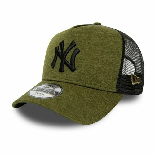 SHADOW New York Yankees New Era A-Frame Trucker Kinder Cap