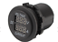 12V-24V-0-10A-Voltmeter-Ammeter-Digital-Motorcycle-LED-Meter thumbnail 2
