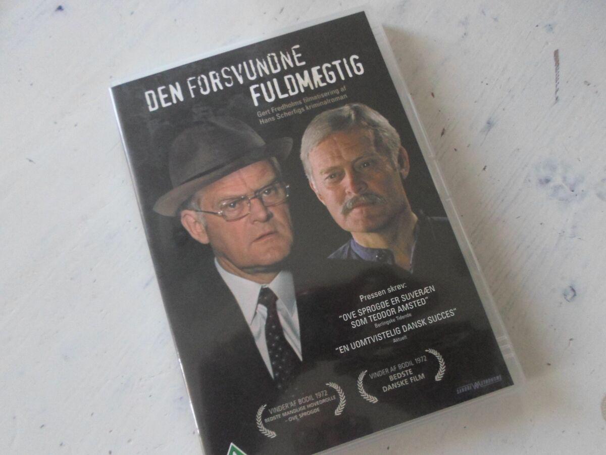 den forsvundne fuldmægtig dvd