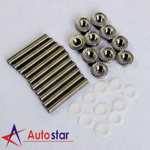 New Intake Manifold Extended Stud Studs Bolt Kit B D H F b18 SI For Honda Acura