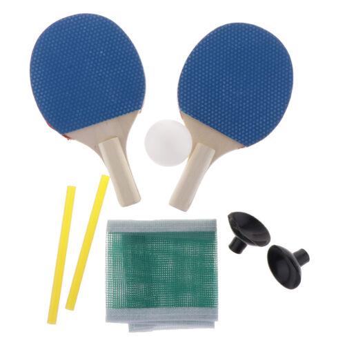 Mini Tischtennisschläger Set 1 Paar Pingpong Schläger Schläger Mit Ball