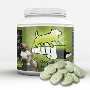 Bully Max Muscle Builder for Dogs. 60 tabs. Buy Directly From The Manufacturer.