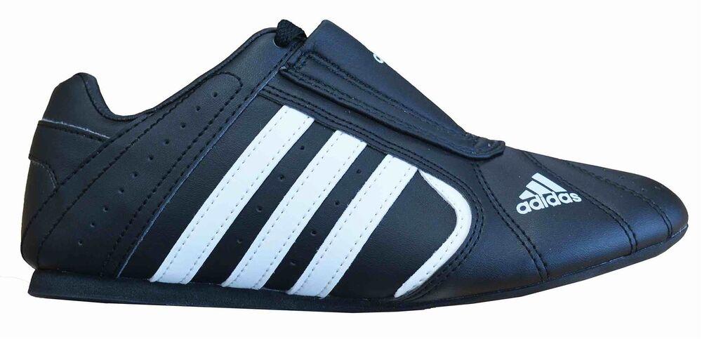 Adidas Arts Martiaux Baskets Chaussures de karaté Adi smiii Taekwondo Enfants Adultes Noir-