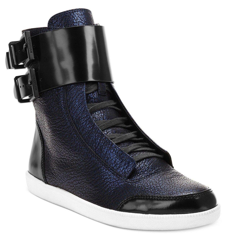 RARE  Boutique 9 Kizo Women's Fashion Sneaker (US 6.5, Navy Black) High tops