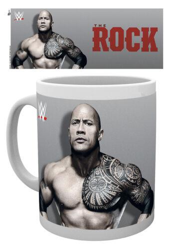 Wrestling Smackdown WWE The Rock Breakfast Coffee 10oz 300ml ...