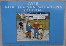 Chaland Avis aux jeunes citoyens Bretons 1992 Neuf avril Stanislas