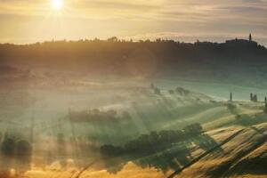 Sunrise-in-Tuscany-Italy-Photo-Art-Print-Mural-Poster-36x54-inch