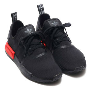 4b4a17c0d Image is loading ADIDAS-NMD-R1-CORE-BLACK-LUSH-RED-B37618-