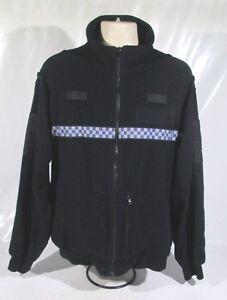 Ex-Police-Tornado-Fleece-With-Chequered-Reflective-Strip-Security