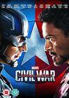 Captain America 3 Civil War 2016 Chris Evans R2 DVD in Hand Immediate DISPATCH