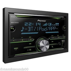 pioneer fh x730bt bluetooth usb ipod iphone control doubledin car stereo mixtrax ebay. Black Bedroom Furniture Sets. Home Design Ideas