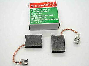 Lot de 10/12,4/x 7.4/x 6,4/mm balais de charbon 999021/pour Hitachi Power outil