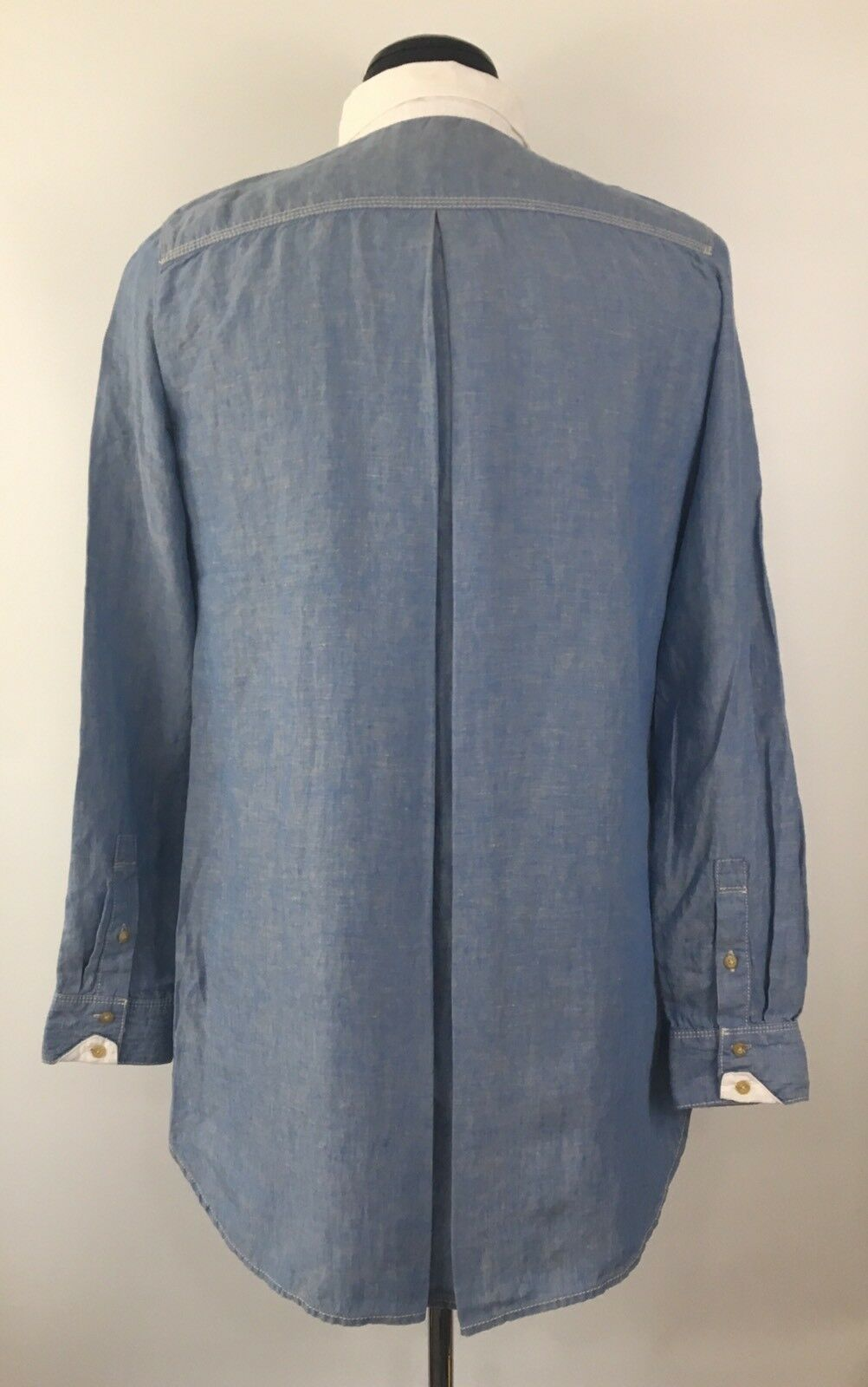 DIESEL VINVY Uomo's Button Long Sleeve Button Uomo's Front Shirt Denim Size S (G133) cdeb9f