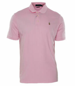 Polo-Ralph-Lauren-Men-039-s-Classic-Fit-Short-Sleeve-Polo-Pink