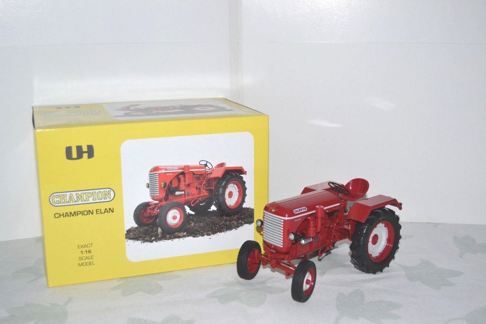 ahorra hasta un 80% Universal Hobbies 1 16. Champion Champion Champion Elan 1956. Tracteur agricole. Réf. UH2824.  liquidación hasta el 70%
