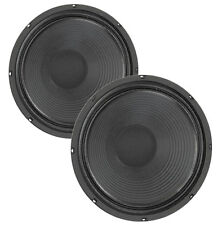 """Pair Eminence Patriot Swamp Thang 12"""" Guitar Speaker 8ohm 102dB 2VC Replacement"""