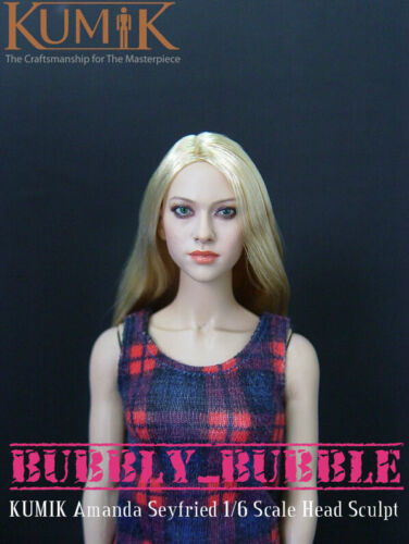 KUMIK Amanda Seyfried 1//6 Scale Head Sculpt For Hot Toy Phicen SHIP FROM USA
