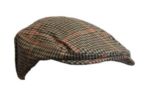 Walker /& Hawkes Uni-Sex Country Wool Flat Cap Herringbone Hat S-3XL