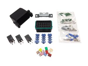 littelfuse hwb18 fuse relay panel kit 3 20 amp relays. Black Bedroom Furniture Sets. Home Design Ideas