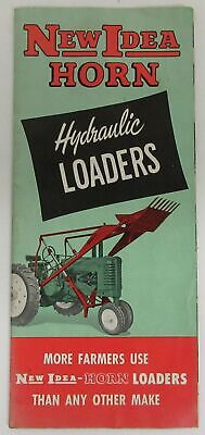 New Idea 504 Hydraulic Loaders Dealer/'s Brochure DCPA5
