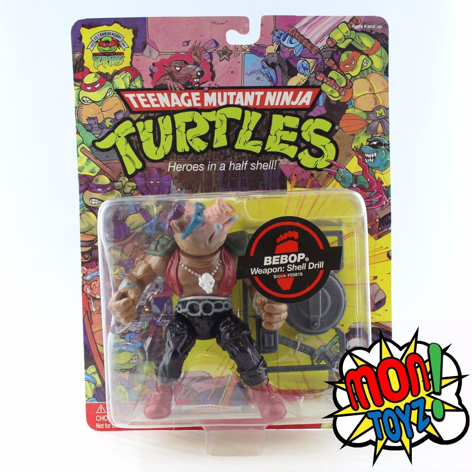 Teenage Mutant Ninja Turtles 1987 25th Anniversary Bebop Action Figure