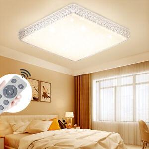 24W Dimmbar LED Deckenleuchte Kristall Deckenlampe Wandlampe ...