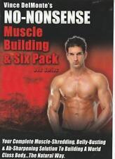 Vince Delmonte's No-Nonsense Muscle Building & Six Pack w/ Bonus DVD VIDEO MOVIE
