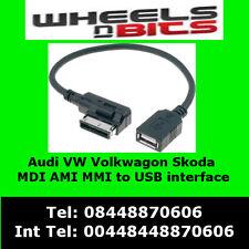 Audi AMI MDI MMI S4 S6 S8 Q5 Q7 TT  USB Flash Drive interface adaptor Connector