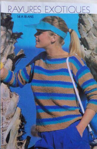 07//1982 § MODES ET TRAVAUX cahier tricot crochet