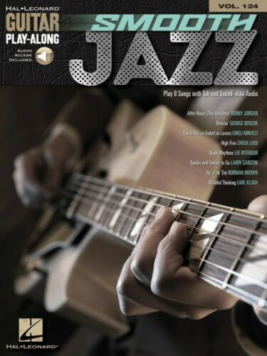 Smooth Jazz Sheet Music Guitar Play-Along Book and Audio NEW 000200664