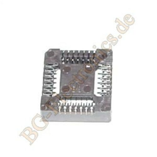 5 x PLCC 28PIN SMD PLCC-28 Fassung   PLCC-28 5pcs