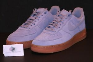 release date e1f43 a12ae Details about Nike Women's Air Force 1 One '07 SE Low Glacier Grey Gum  AA0287 001 Sz 11.5