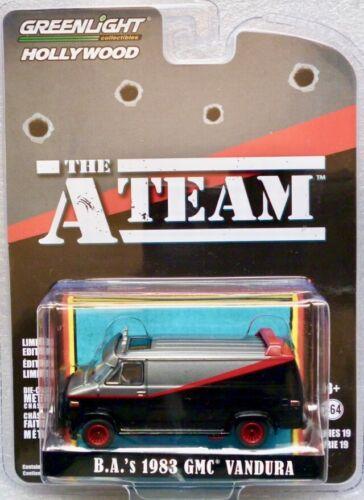 "Greenlight Hollywood 1:64 1983 GMC Vandura  /""The A-Team/"""