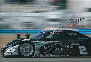 Andy-WALLACE-SIGNED-Autograph-12x8-Photo-AFTAL-COA-Pontiac-Sports-Car-Le-Mans