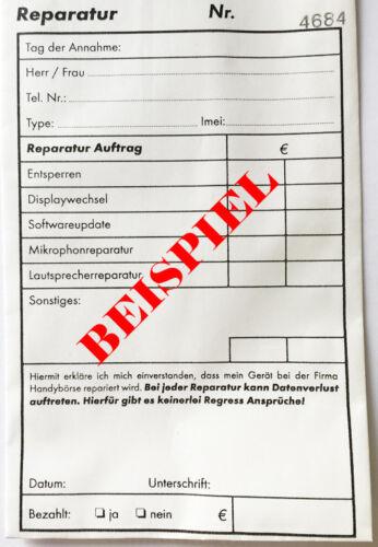 Handy 400x Reparaturbeutel Reparaturtüten für Schmuck Uhren; 80g Papier