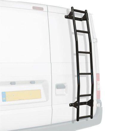 Rhino Rear Door 6 Step Ladder Anti Slip Ford Transit MK6/7 (00-14) [Low Roof]