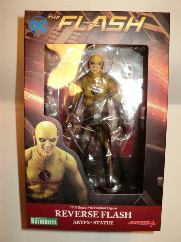 DC THE FLASH ArtFX+ Reverse Flash Statue 1/10 Kotobukiya MIMB