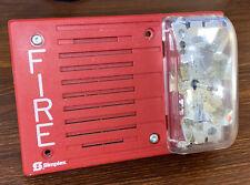 Simplex 4903 9144 Speaker Strobe 24vdc 110cd Fire Alarm Red