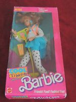 Vintage 1988 Midge Barbie Doll Cool Times Popcorn Box