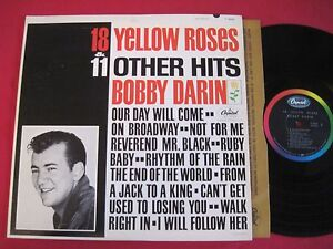 ORIG-MONO-LP-BOBBY-DARIN-18-YELLOW-ROSES-amp-11-OTHER-HITS-CAPITOL-T-1942