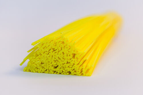 HDPE Plastic welding rods yellow pack of 20 pcs //triangular shape// 4mm